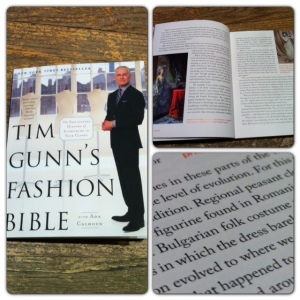 Bulgarian folk costume in Tim Gunn's Fashion Bible