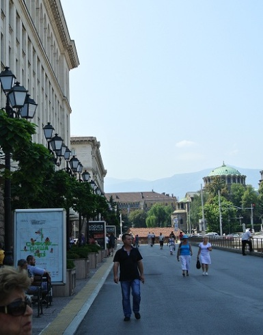 On the streets of Sofia