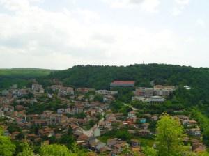 view of Veliko Tarnovo