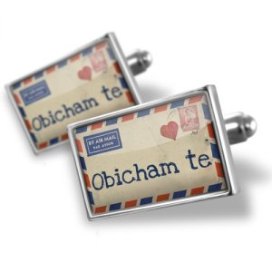 I love you in Bulgarian Cufflinks