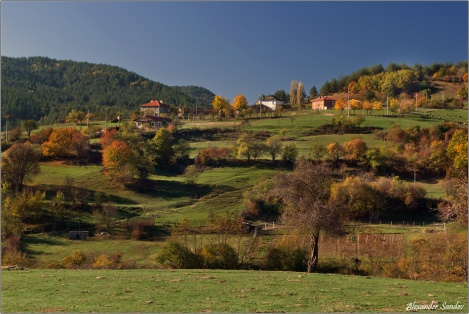 Fall in the Rhodope Mountain