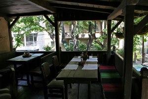 """Restaurant """"Pod Lipite"""" - outside sitting area"""