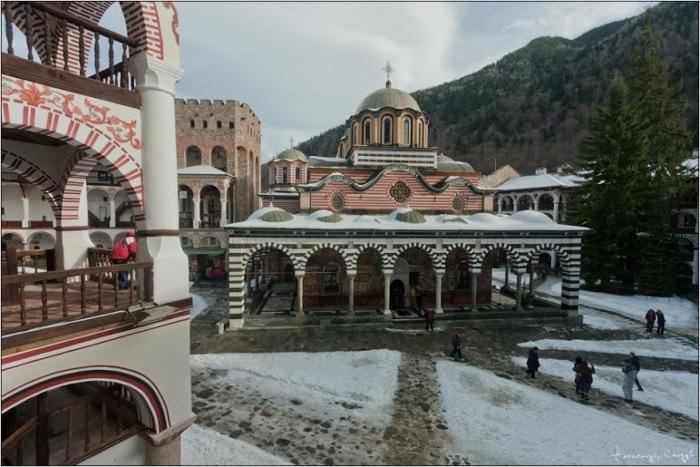 Rila Monastery by Alexander Sandev