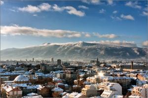 Winter morning in Sofia