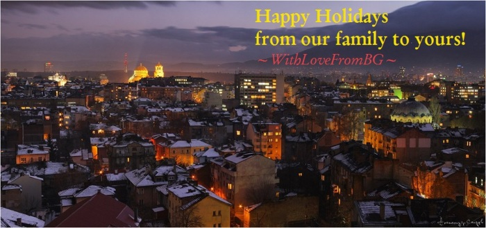 WithLoveFromBG Holiday Card!