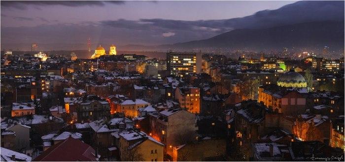 Pre-holiday Sofia
