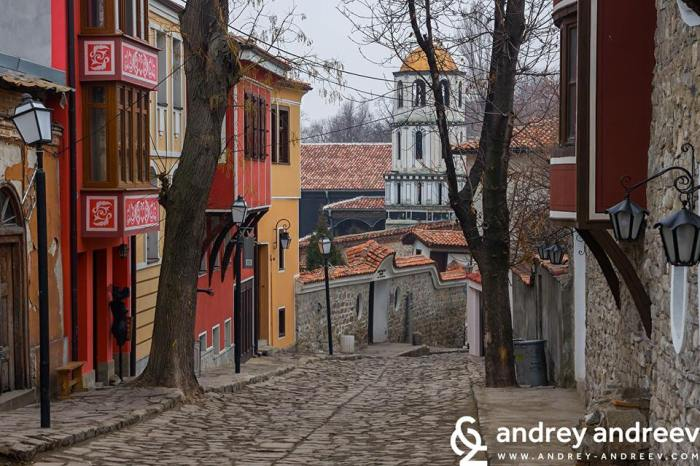 Plovdiv, The Old Town, Bulgaria