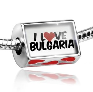 I Love Bulgaria Bead