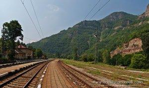 Bulgarian Train Station